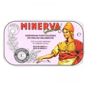 Sardinhas em Escabeche Minerva 120g