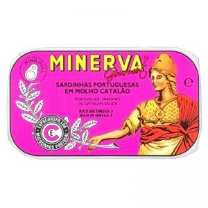 Sardinhas em Molho Catalão Minerva 120g