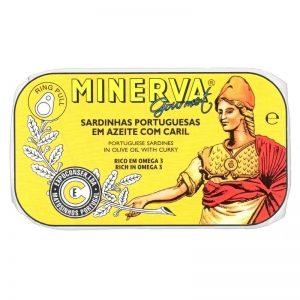 Sardinhas em Azeite com Caril Minerva 120g