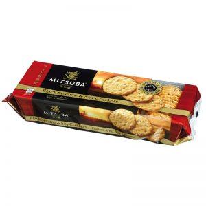 Crackers de Arroz com Sésamo Preto e Soja Mitsuba 100g