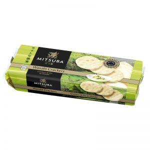 Mitsuba Wasabi Crackers 100g