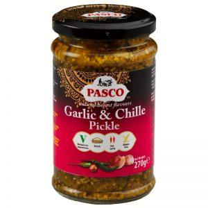 Pickles de Alho e Chilli Pasco 260g
