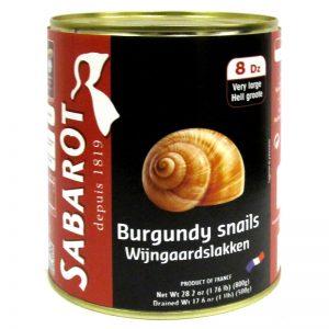Caracóis Escargots da Borgonha Sabarot 800g