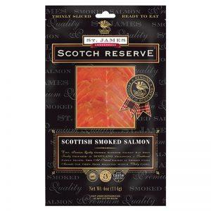 St. James Smokehouse Original Scottish Smoked Salmon Scotch Reserve 100g