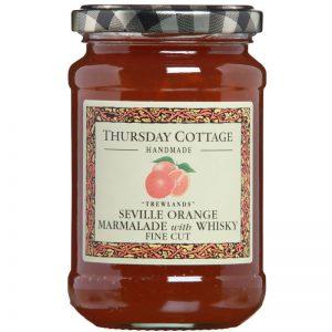 Thursday Cottage Orange and Whiskey Marmalade 340g