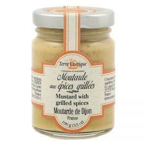 Mostarda de Dijon com Especiarias Grelhadas Terre Exotique 100g