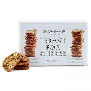 Conjunto de Tostas para Queijo em Lata The Fine Cheese Co. 200g