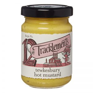Tracklements Tewkesbury Hot Mustard 140g