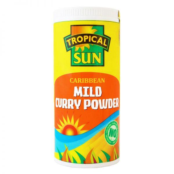 Caril Suave Caribenho em Pó Tropical Sun 100g