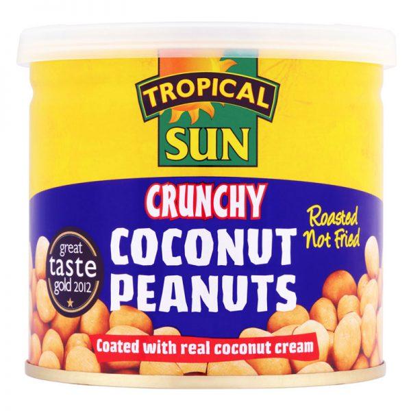 Amendoins com Coco Tropical Sun 165g