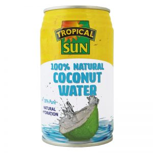 Tropical Sun Natural Coconut Water in Can 330ml