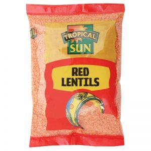 Lentilhas Vermelhas Tropical Sun 500g