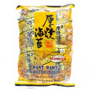 Want Want Seaweed Rice Crackers  160g