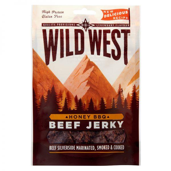 Wild West Honey BBQ Beef Jerky 25g