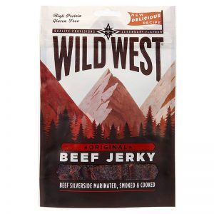 Beef Jerky Original Wild West 25g