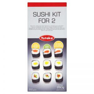 Kit para Sushi - 2 porções Yutaka 260g