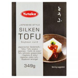 Tofu Sedoso Estilo Japonês Yutaka 349g