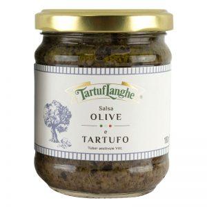 Tartuflanghe Mediterranean Sauce With Summer Truffle 180g
