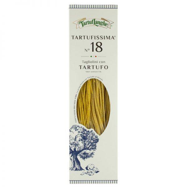 Tartufissima N° 18 - Tagliolini com Ovo e Trufas Tartuflanghe 250g