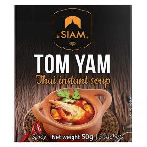 deSIAM Tom Yam Thai Instant Soup 50g