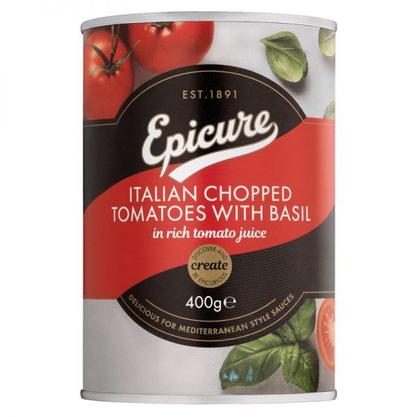 Tomate em Pedaços com Manjericão Epicure 400g