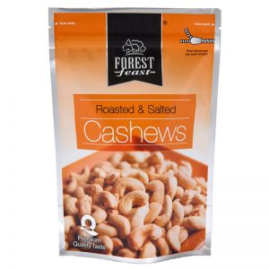 Forest Feast Roasted & Salted Cashews 250g