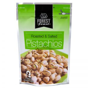 Forest Feast Roasted & Salted Pistachios 250g