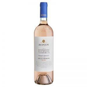 Vinho Branco Pinot Grigio Delle Venezie Blush IGT Zonin 750ml