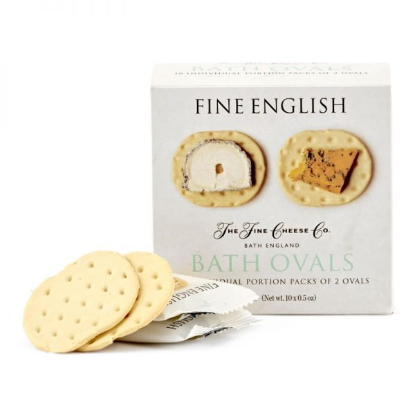 "Crackers ""Bath Ovals"" Monoporção The Fine Cheese Co. 150g"