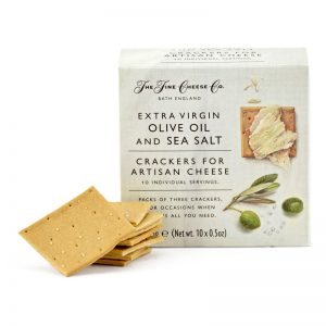 Crackers Azeite Sal Marinho Monoporção The Fine Cheese Co. 150g