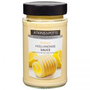 Atkins & Potts Hollandaise Sauce 205g