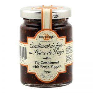 Condimento de Figo com Pimenta de Penja Terre Exotique 100g