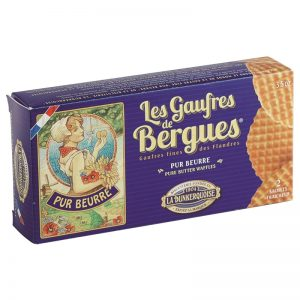 La Dunkerquoise Pure Butter Waffles 80g