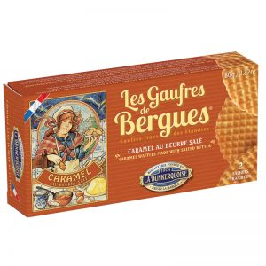 La Dunkerquoise Caramel Waffles Made with Salted Butter 80g