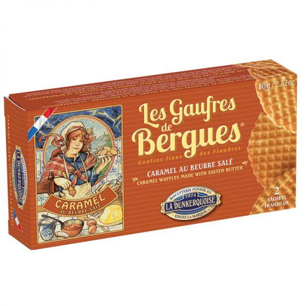 Waffles de Manteiga e Caramelo La Dunkerquoise 80g