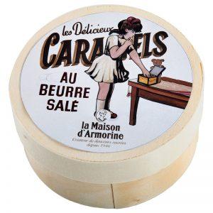 Caramelos da Bretanha em Caixa Redonda La Maison Armorine 50g