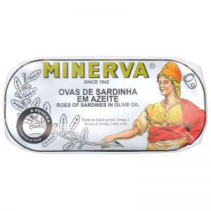 Ovas de Sardinha em Azeite Minerva 120g