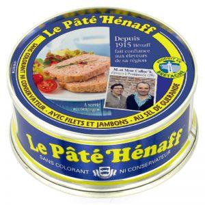 Hénaff Pork Pate with Guerande Salt 78g
