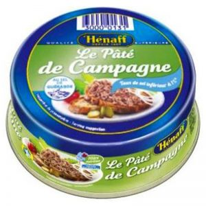 Paté de Porco de Campagne Hénaff 78g