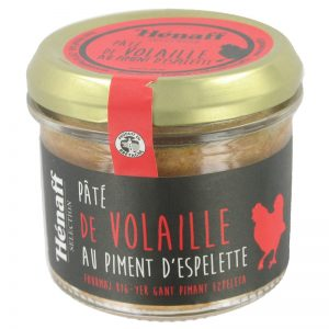 Hénaff Poultry Pate with Espelette Pepper 90g