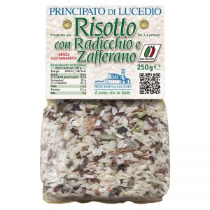 Principato di Lucedio Risotto Mix with Red Chicory And Saffron 250g