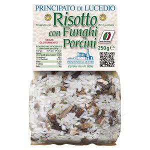 Mistura para Risoto com Cogumelos Porcini Principato di Lucedio 250g