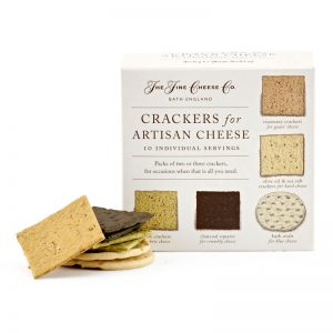 Conjunto Crakers para Queijo Monoporção The Fine Cheese Co. 150g