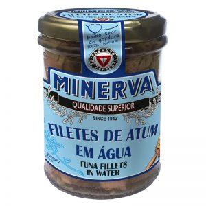 Minerva Tuna fillets in Water - Bottle 190g