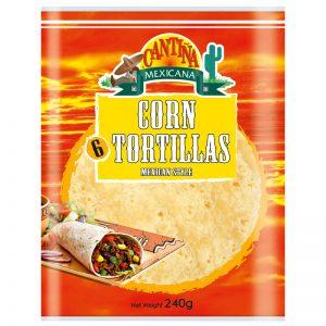 Cantina Mexicana 6 Corn Tortillas 240g