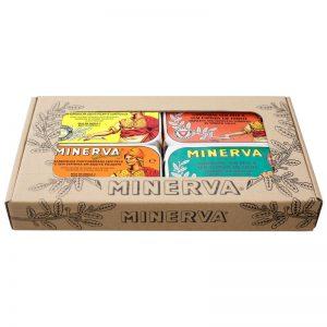 Conjunto Conservas Sardinha sem pele e sem Espinhas Minerva 480g