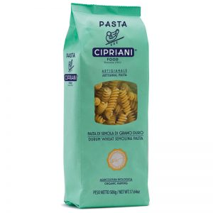 Cipriani Fusilli - Durum Wheat Semolina Organic Pasta 500g