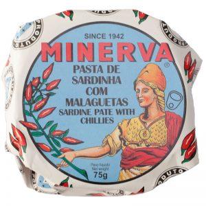 Paté de Sardinha Picante Minerva 75g