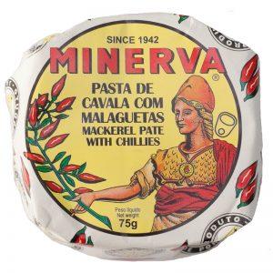 Minerva Hot Mackerel Pate 75g