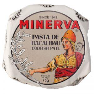 Paté de Bacalhau Minerva 75g